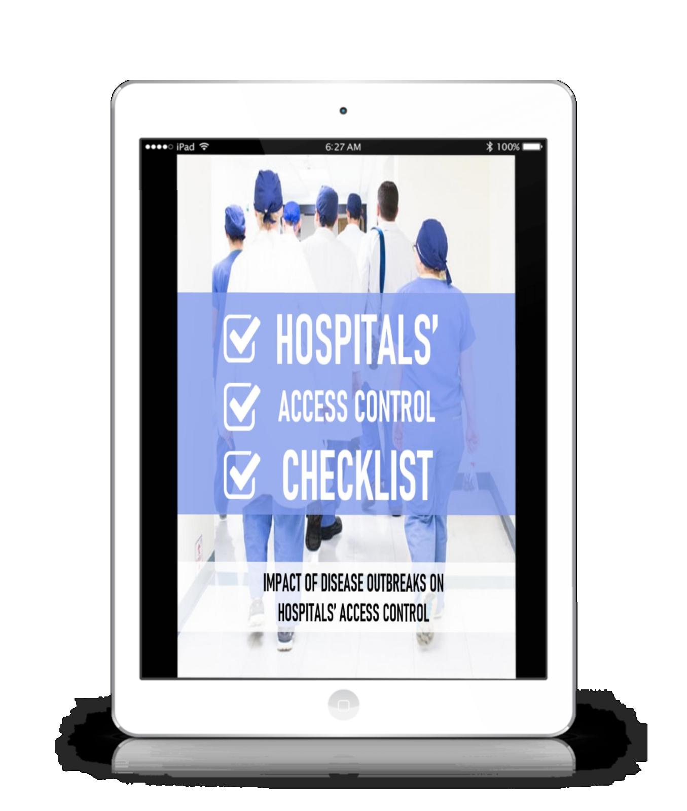 SimonsVoss Technologies - Hospitals Access Control Checklist