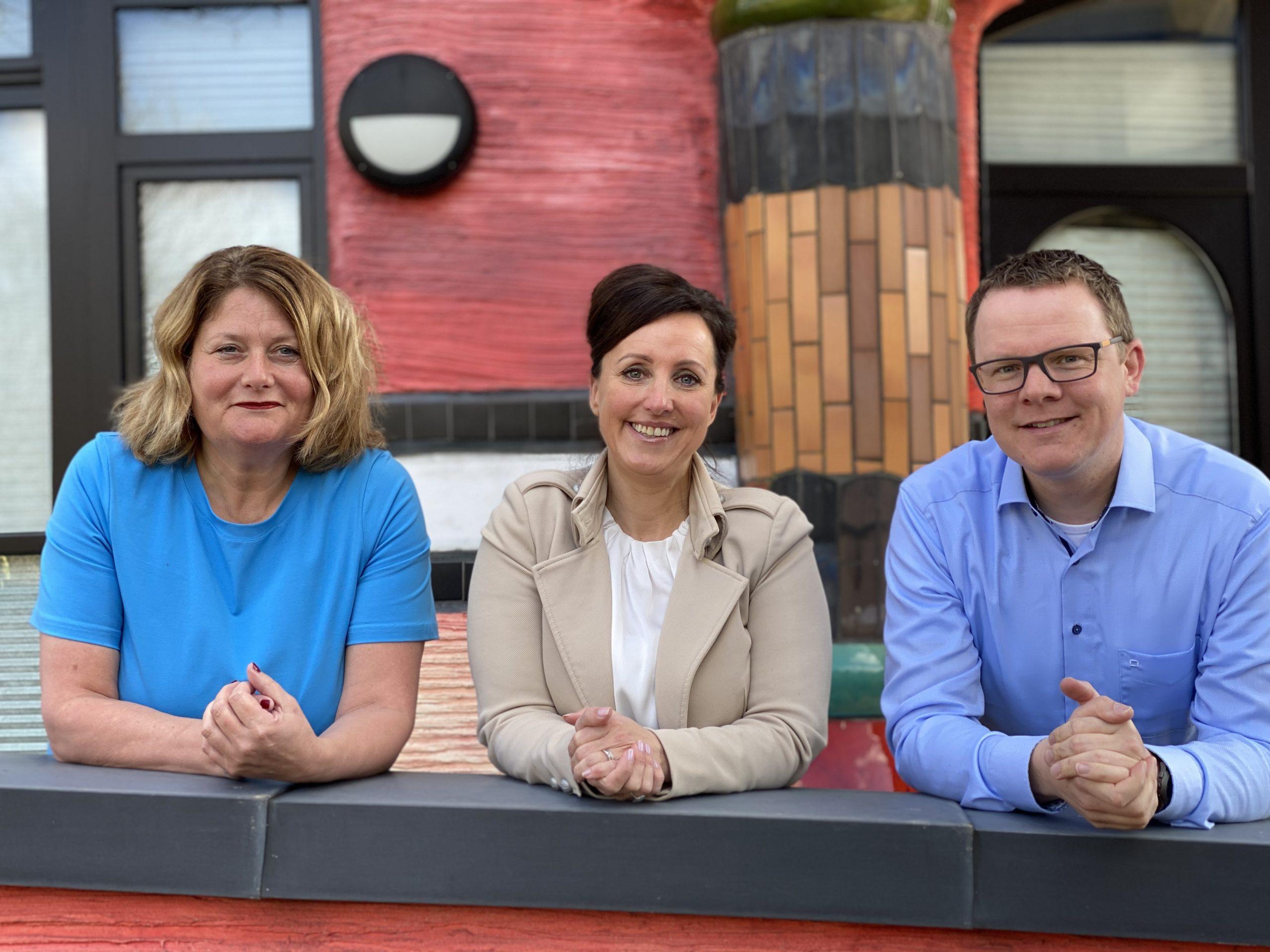 Management-ondersteuners Anique, Nicole en Paul